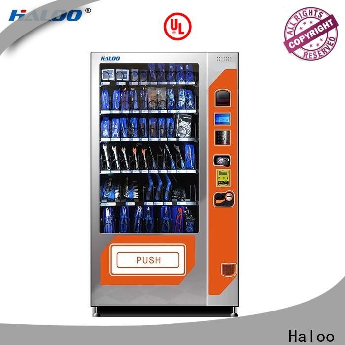 Haloo wholesale beverage vending machine design for snack