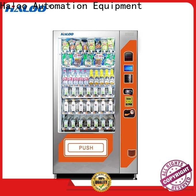 Haloo durable snack machine series for fragile goods