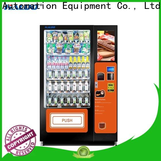 Haloo automatic sandwich vending machine design for red wine