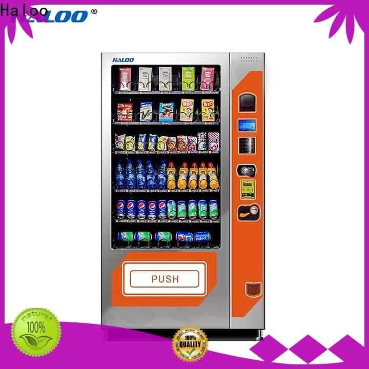 Haloo cold drink vending machine factory direct supply for drink