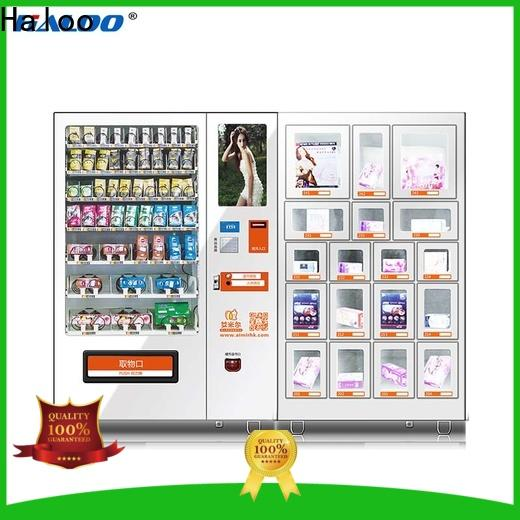 Haloo condom dispenser directly sale for shopping mall
