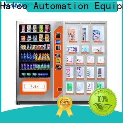 Haloo high quality condom vending factory direct supply for shopping mall