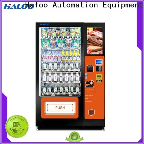 Haloo toy vending machine design for drinks