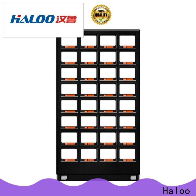 Haloo automatic healthy vending machine snacks manufacturer for drinks