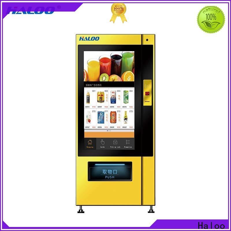 Haloo drink vending machine series for merchandise