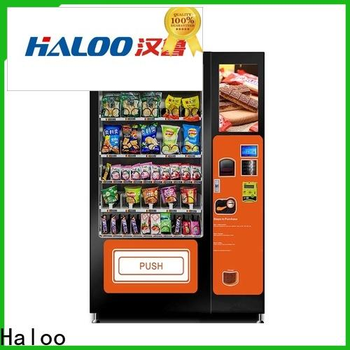 Haloo healthy vending machines design for shopping mall
