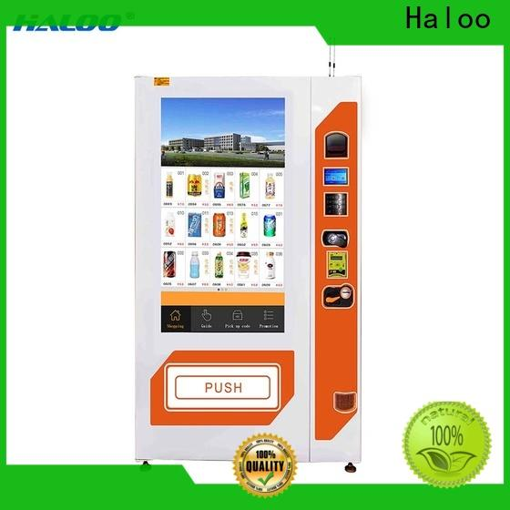 Haloo healthy vending machines manufacturer for merchandise