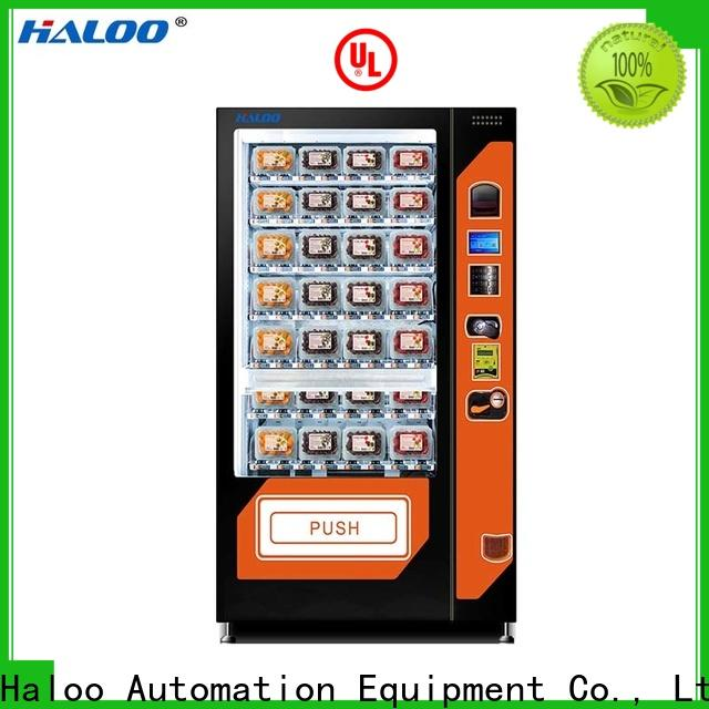 Haloo durable water vending machine design for drinks