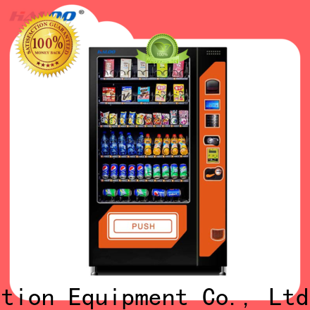 Haloo high-quality combo vending machines factory direct supply for food