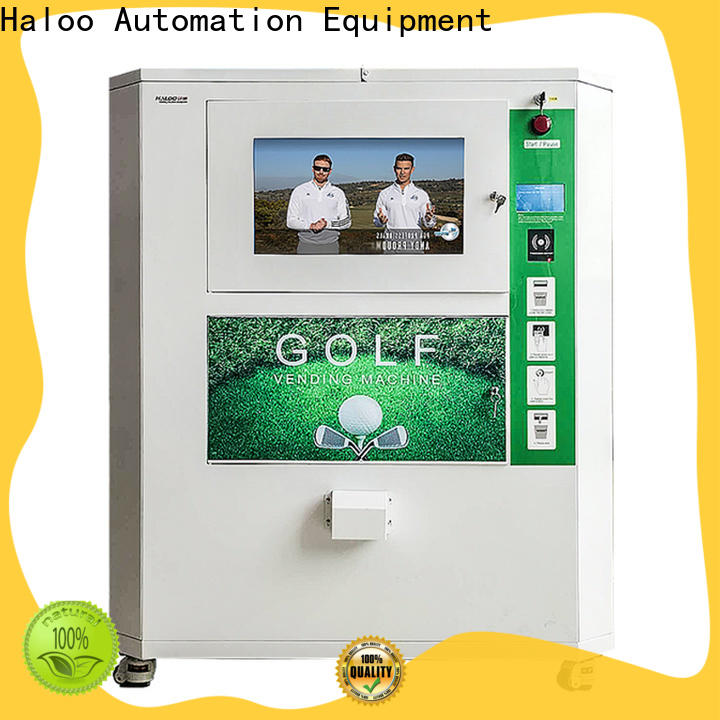 Haloo power-off protection vending kiosk design for purchase