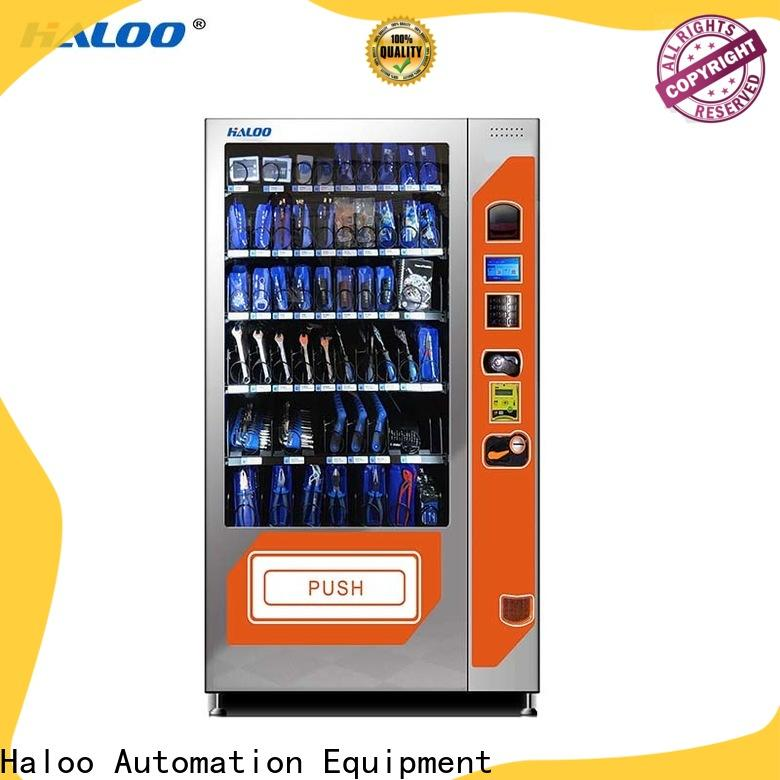 Haloo custom chocolate vending machine with good price for drink