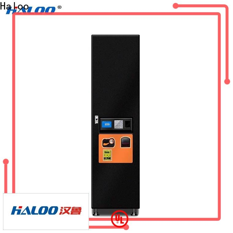 Haloo professional medicine vending machine wholesale for merchandise