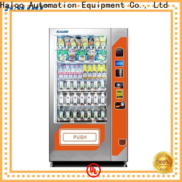 Haloo water vending machine manufacturer for fragile goods
