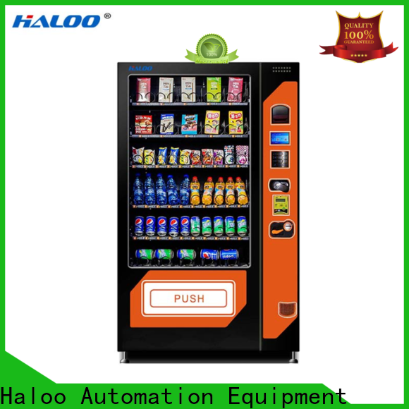 Haloo combo vending machines manufacturer for snack