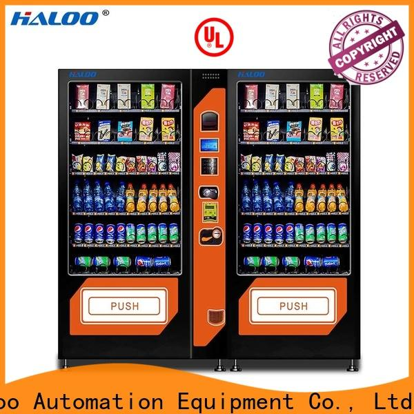 Haloo latest combo vending machines design for food