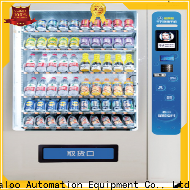 Haloo high capacity vending kiosk factory direct supply for garbage cycling