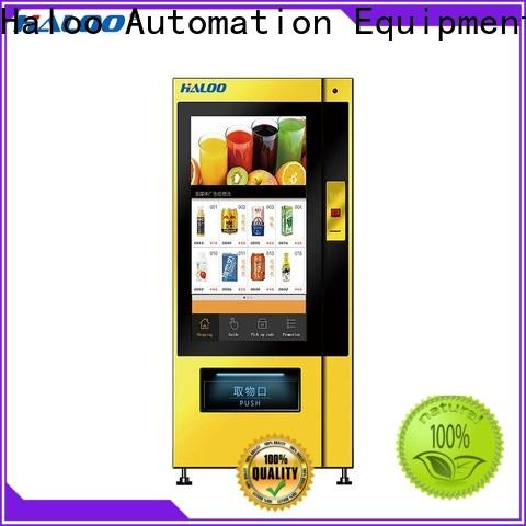 Haloo cost-effective healthy vending machines series for shopping mall