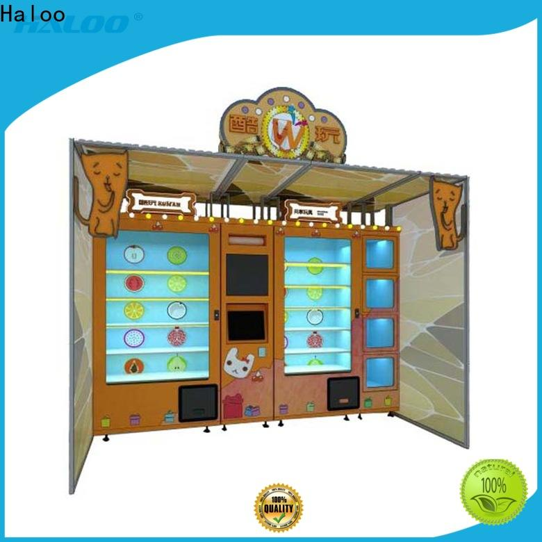 Haloo intelligent lucky box vending machine design for lucky box gift
