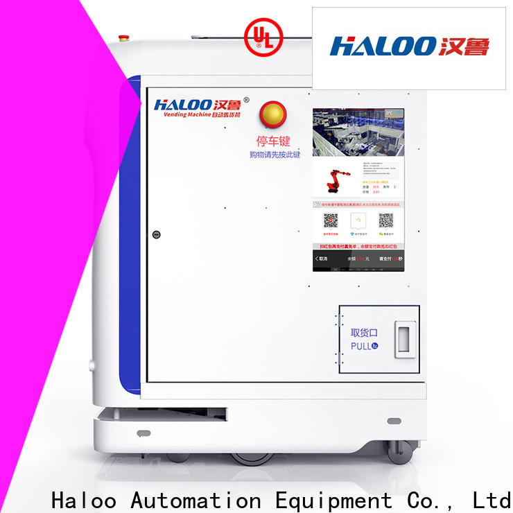 Haloo automatic vending kiosk customized for lucky box gift