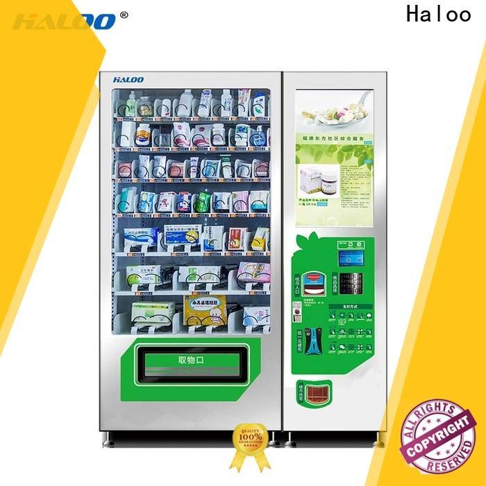Haloo smart vending machine price series for merchandise
