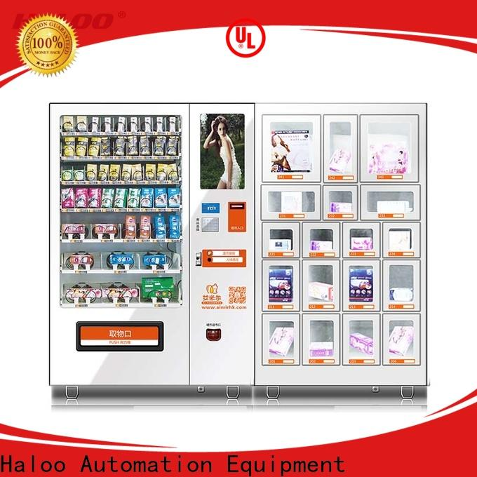 Haloo condom vending customized for pleasure