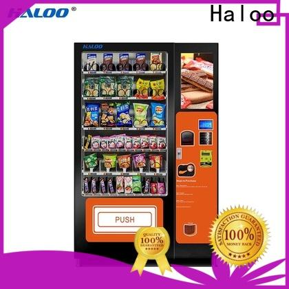 Haloo convenient vending machine price manufacturer for shopping mall
