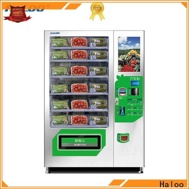 Haloo durable sandwich vending machine manufacturer for red wine