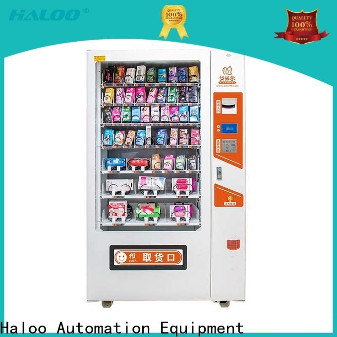 Haloo GPRS remote manage condom vending directly sale for shopping mall