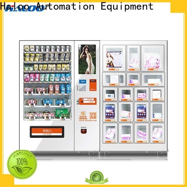 Haloo condom dispenser factory direct supply for shopping mall