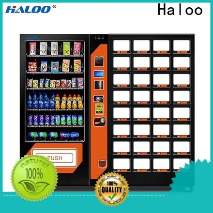 Haloo wholesale soda snack vending with good price for food
