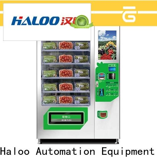Haloo automatic fruit vending machine manufacturer for drinks