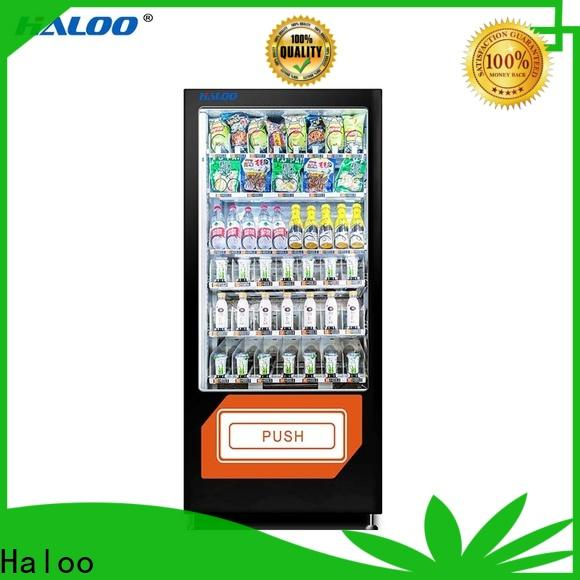 Haloo healthy vending machine snacks design for adult toys