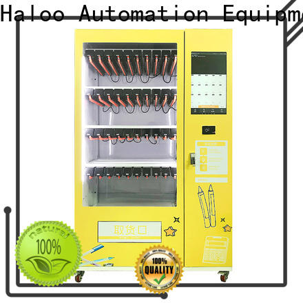 Haloo durable cigarette vending machine customized for lucky box gift