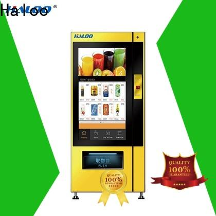 Haloo vending machine price manufacturer for merchandise