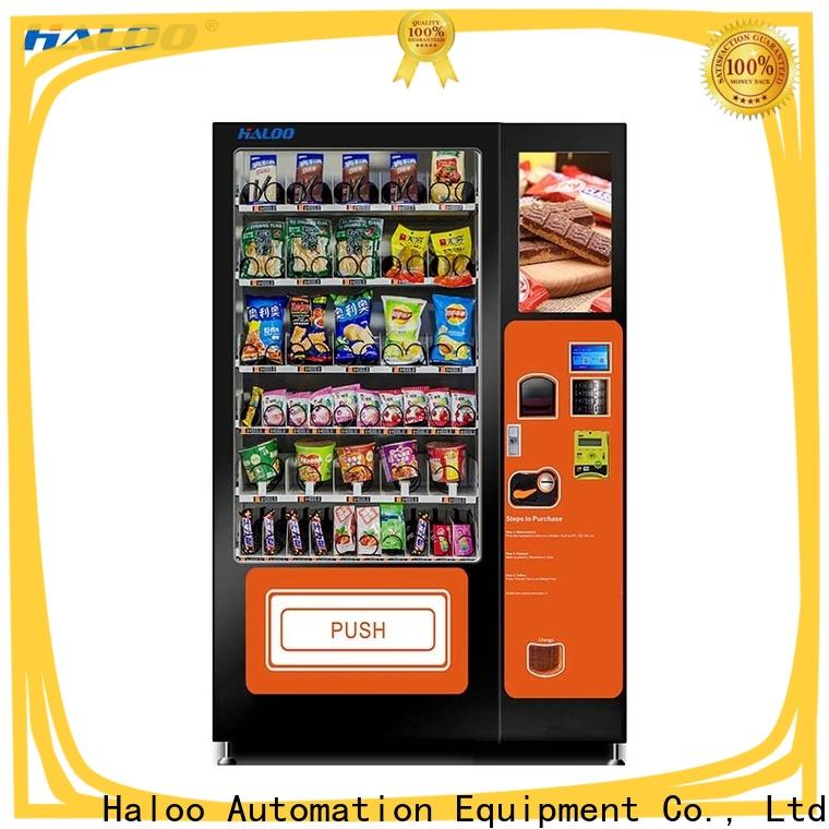 Haloo smart healthy vending machines wholesale