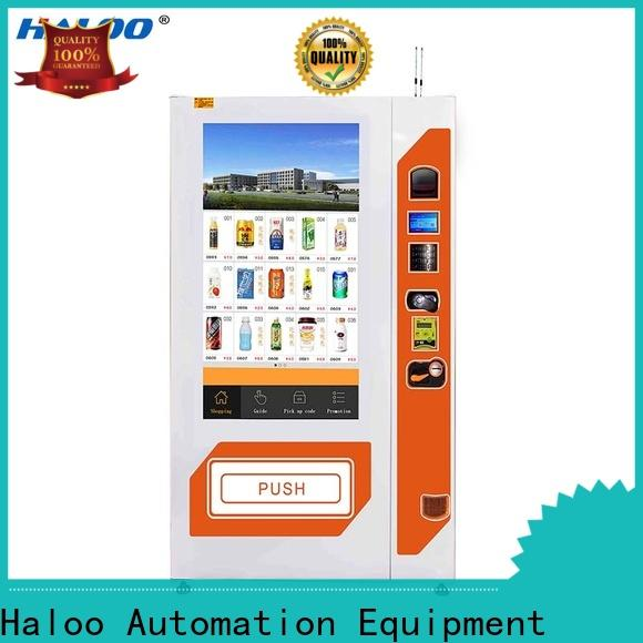 Haloo soda vending machine wholesale for merchandise