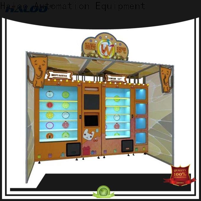 Haloo vending kiosk manufacturer for lucky box gift