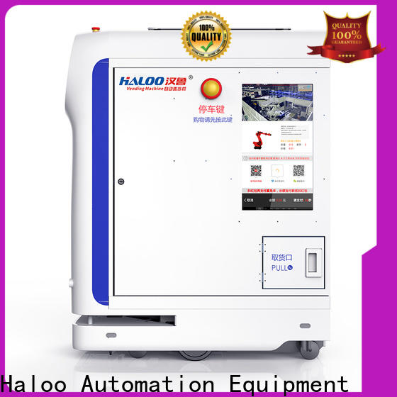Haloo automatic lucky box vending machine factory direct supply for lucky box gift