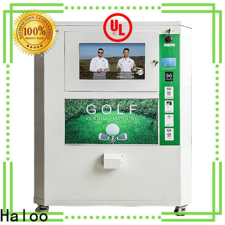 Haloo lucky box vending machine customized for purchase