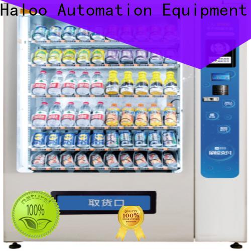 Haloo vending kiosk design for lucky box gift