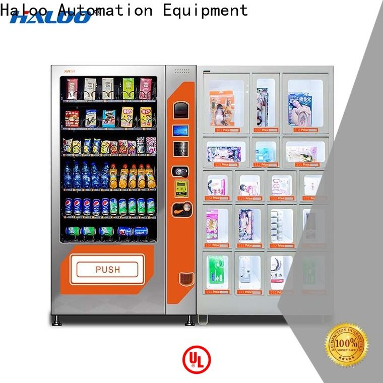 Haloo condom vending customized for adults