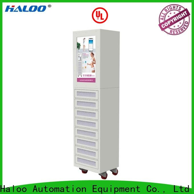 Haloo robot vending machine design for garbage cycling