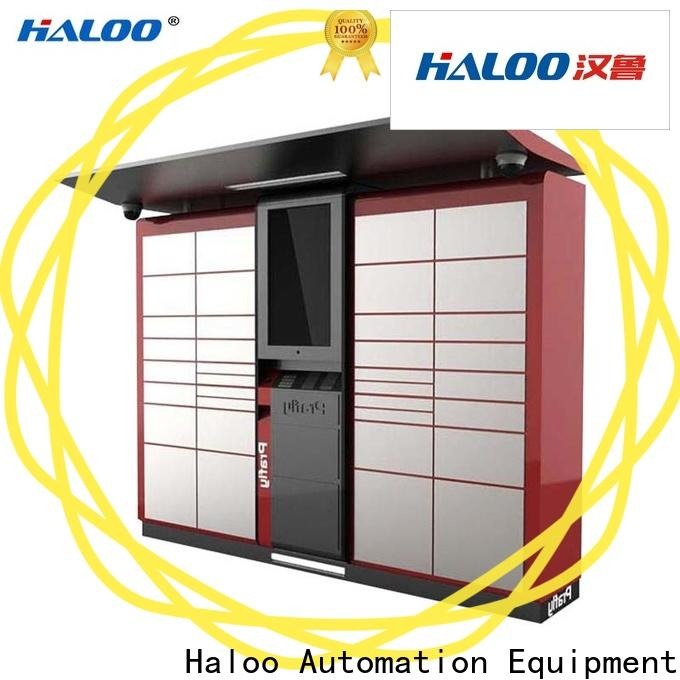 Haloo intelligent recycling machines customized for garbage cycling