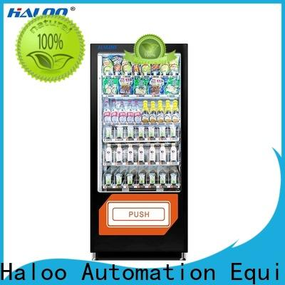 Haloo high capacity food vending machines series for adult toys
