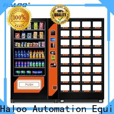 Haloo combo vending machines with good price for drink