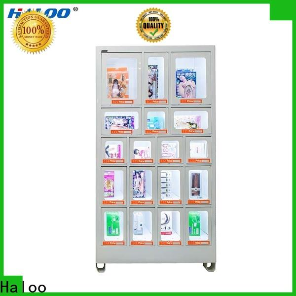 Haloo candy vending machine supplier for drinks