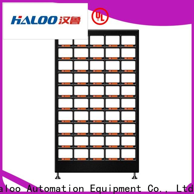 Haloo automatic water vending machine design for fragile goods