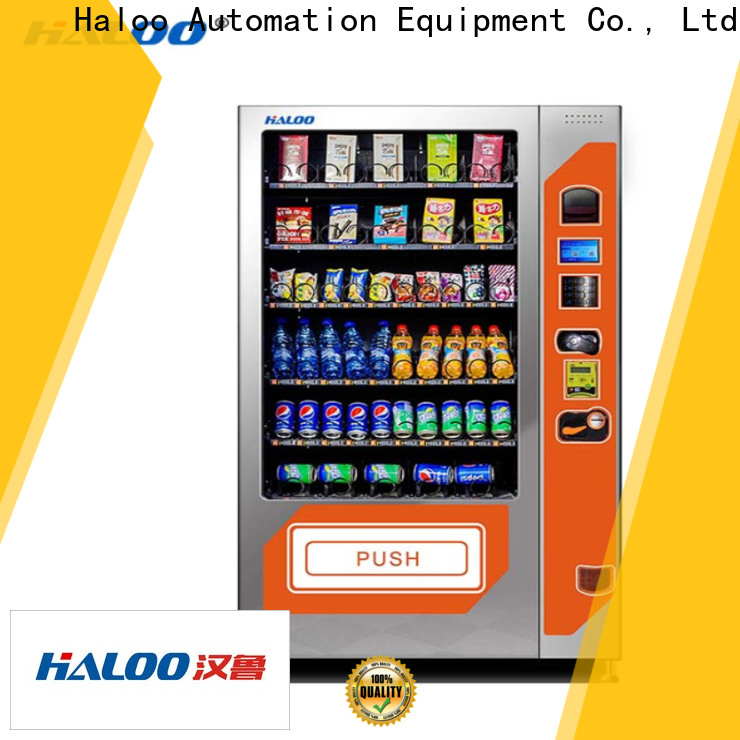 latest combo vending machines customized for snack