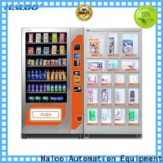 Haloo GPRS remote manage condom dispenser factory direct supply for pleasure