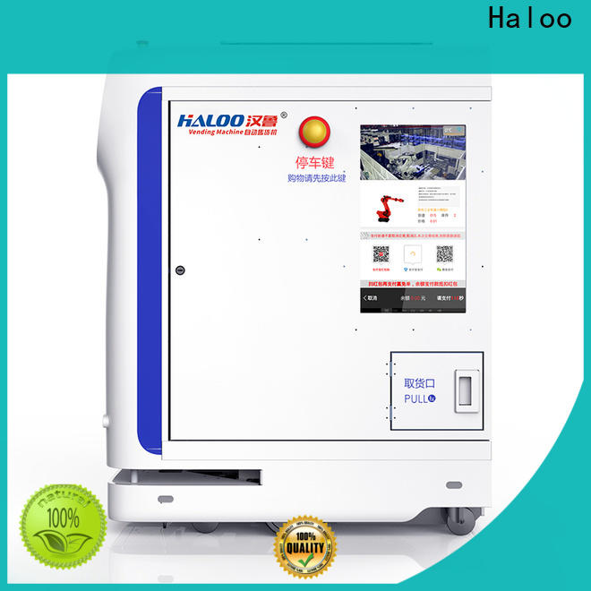 Haloo smart remote management robot vending machine customized for garbage cycling